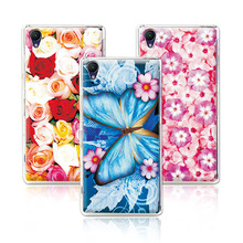 Buy Floral Art Painted Flower Phone Case Sony Xperia Z2 L50w D6503 Case Cover Sony Z2+Free Stylus Pen for $1.21 in AliExpress store