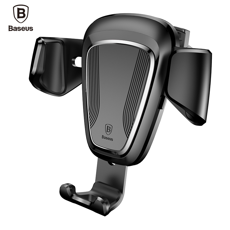 Baseus Brand Phone Car Holder For iPhone 7 6 Samsung S8 Car Air Vent Mount Mobile Phone Holder Stand Soporte Movil Pop Socket(China (Mainland))
