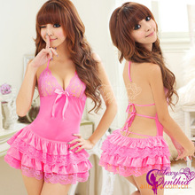 Erotic Plus Size Lingerie Babydoll Princess Series Sling Lingerie Sexy Backless Bra Underwear Manufacturers Supply Fei Mu D406