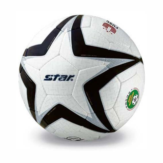 Free shipping! High quality Match use Star Soccer Ball/Football Size 5 SB465 Polaris 101 Gift: gas pin & net bag