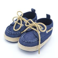 Toddler First Walkers Cotton Canvas Shoes Infant Sneaker Soft Bottom Baby Crib Shoes Lace 1-3Y Free Shipping(China (Mainland))
