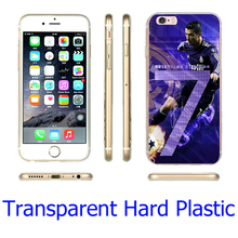 Cristiano Ronaldo CR7 Football Clear Phone Cover Case iPhone 5S 5 SE 5C 4 4S 6 6S 7 Plus ( Soft TPU / Hard Plastic ) - Smartphone Fundas Carcasas (HK store Co.,Ltd)