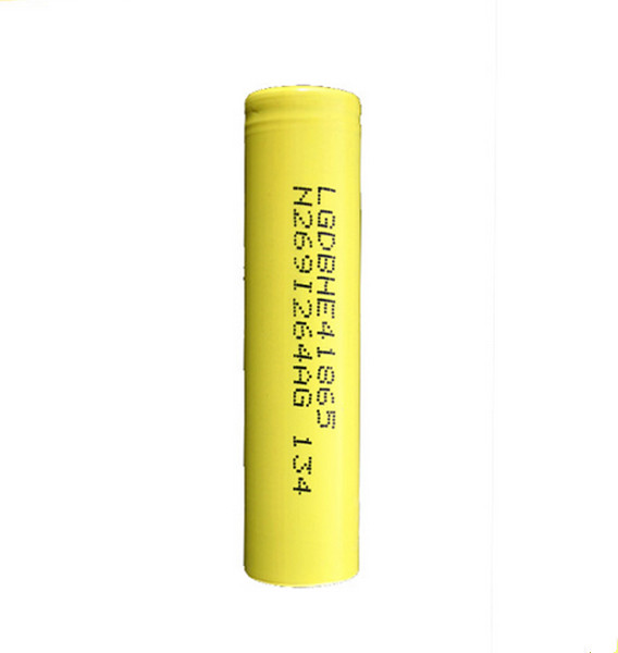 10pcs/lot Original 18650 3.7V 2500mAh For LG HE4 IMR 18650 rechargeable high drain battery,max 20A pulse 35A discharge(China (Mainland))