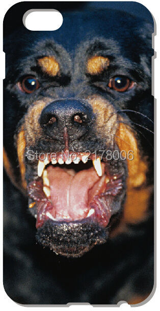 Retail Rottweiler Dog Mobile Cell Phone Case Plastic Hard Cover For iphone 4 4S 5 5S SE 5C 6 6S Plus For iPod Touch 4 5 6 Cases(China (Mainland))