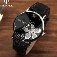 2016 Fashion Flower Quartz Watch Women Wrist Watches Ladies Wristwatch Female Clock Quartz-watch Relogio Feminino Montre Femme