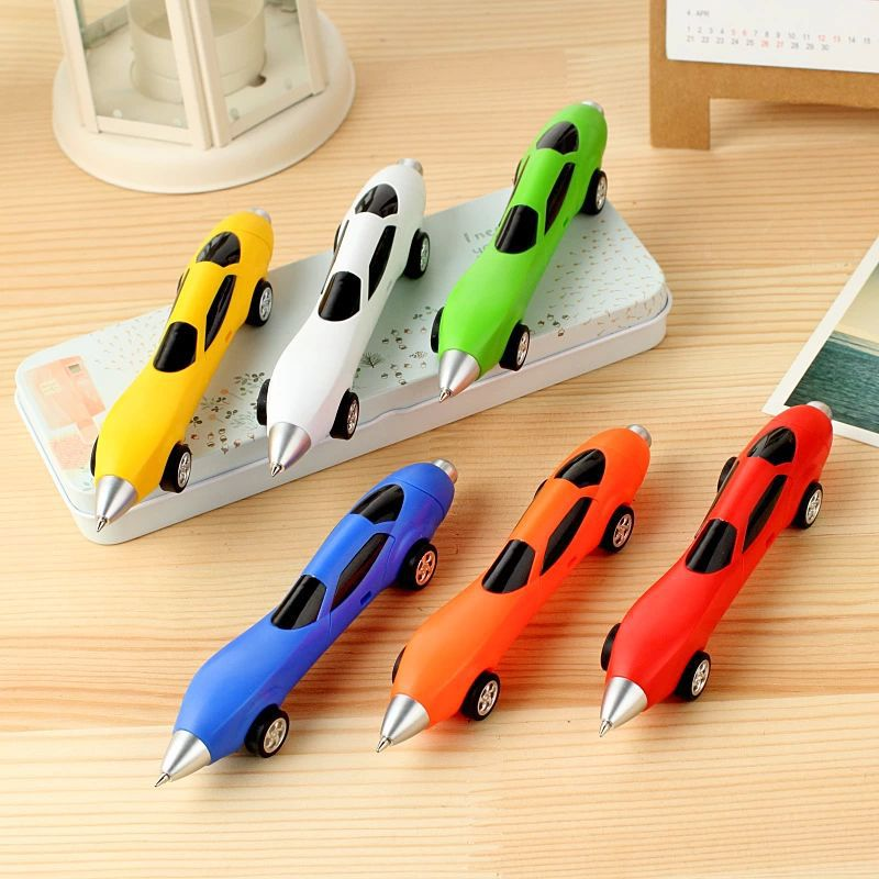 6Colors Novelty Classic Toys Cars Ballpoint Pens Diecasts & Toy Vehicles Multicolor Cars Toys(China (Mainland))