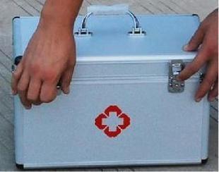 2pcs Aluminum alloy box visits pyxides medical box visits bag<br><br>Aliexpress