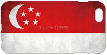 2016 Singapore Flag Cover For iphone 5 5S SE 5C 6 6S Plus Touch 5 6 For Samsung Galaxy A3 A5 A7 J1 J2 J3 J5 J7 Cell Phone Case