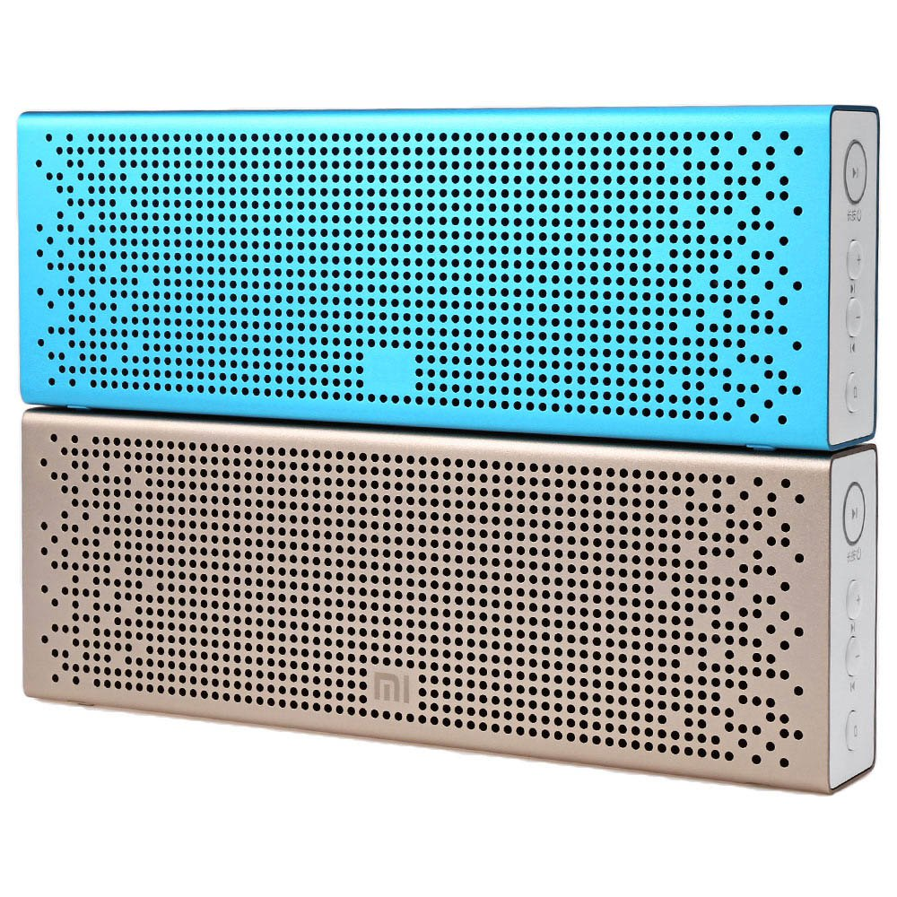 Original XiaoMi Bluetooth 4.0 Box Speaker Built-in Battery Support Hands-free Calls Music Playing Volume Control for Smartphone(China (Mainland))