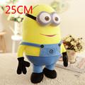 1PCS 25cm Despicable Me 3D Eyes High Quality Plush Toy Minions Soft Dolls Jorge Stuart Dave