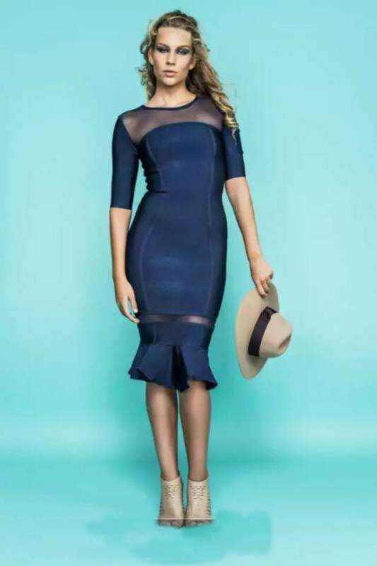 Popular Short Tight Blue Dresses-Buy Cheap Short Tight Blue ...
