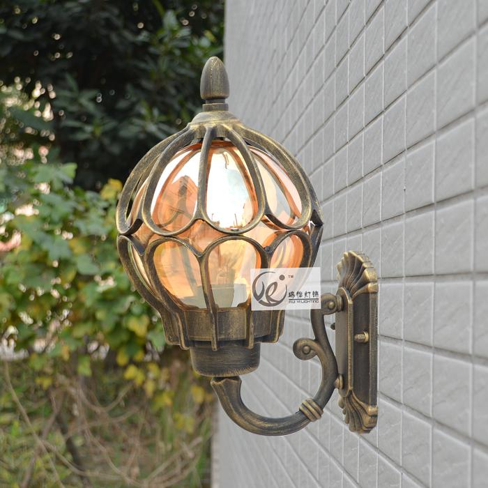 Фотография  aluminum outdoor wall lamp outdoor garden lamp fashion vintage wall lamp balcony lamp free shipping