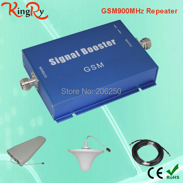 Free Shipping GSM Booster GSM Repeater 900Mhz Mobile Signal Cell Phone GSM Amplifier single band gsm 900MHz(China (Mainland))