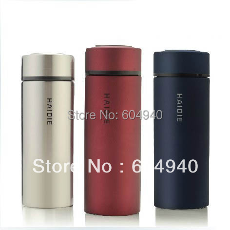 350ml 450ml Vacuum flask insulation holding water bottles stainless steel thermos Ladies Men Kids use- - Justin zha's store