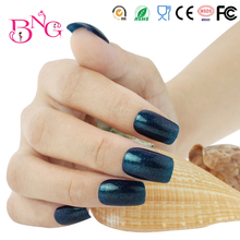 Buy Beauty Charming Blue Glitter Color #77 UV Gel Varnishes Nail Polish Soak 10ml Long Lasting Nail Art Manicure Maquiagem for $5.98 in AliExpress store