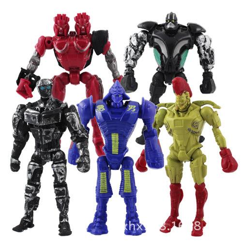 "NEWS 5x Real Max Steel Toys Atom Midas Noisey Boy Zeus 5.1"" Action Figure Kids Fun PlayToy  5pcs/set(China (Mainland))"