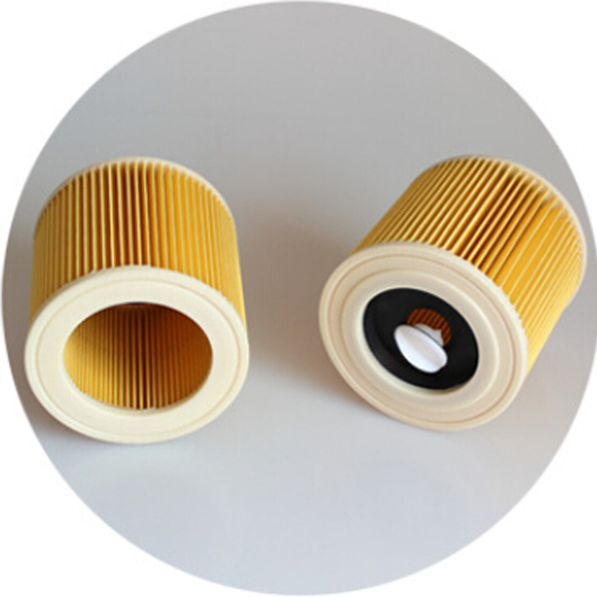 Replacement Filter for Karcher Vacuum Cleaner Hoover Wet Dry Cartridage Filter for A1000 A2200 A3500 A223 WD2.200 WD3.500r(China (Mainland))