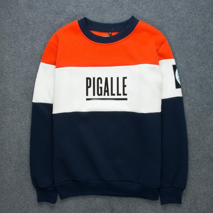 Autumn winter brand pigalle men sport skateboard fleece sweatshirts hoodies hip hop men casual pullover moletom masculino(China (Mainland))