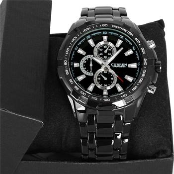 Curren relogios masculinos 2015 люксовый бренд часы мужчины мода часы кварцевые бизнес свободного покроя наручные полная сталь мужчины часы