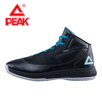 PEAK SPORT Men Basketball Shoes Authentic Breathable Comfortable Sneakers Outdoor Athletic Training Rubber Outsole Ankle Boots