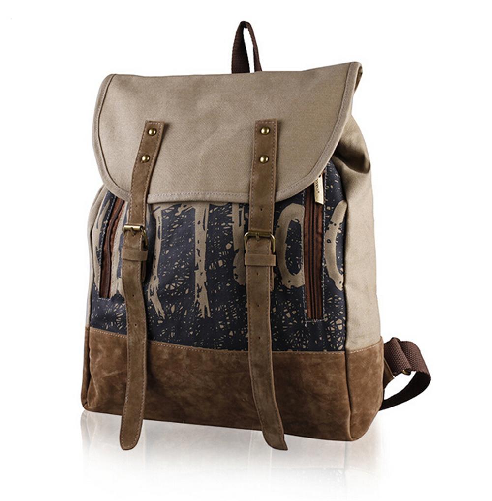 Brand New Women Canvas Backpack School Bag Boy Girl Belt Suede Laptop BackPack Vintage Bag Casual Daypacks<br><br>Aliexpress