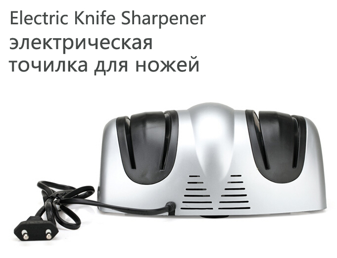electric knife sharpener 4 sharpen socket multi function kitchen tool automatic auto sharpens knives(China (Mainland))