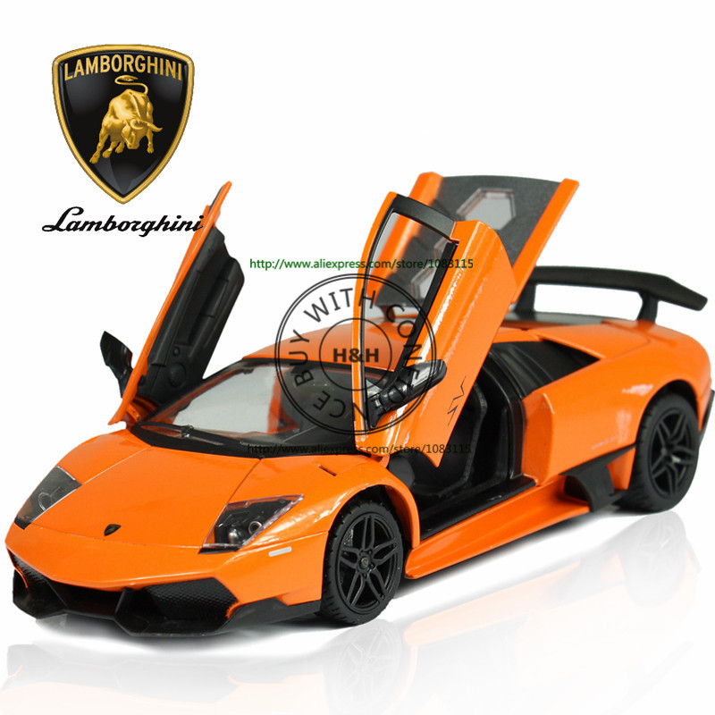 2 Colors 1:24 Aventador LP Murcielago Metal Alloy Diecast Scale Model Car Toy Miniature Sound and Light Boys Free Shipping<br><br>Aliexpress