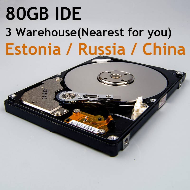 "80GB Laptop Internal HDD IDE 2.5 Pata 2.5"" Laptop Hard Drive Disk Work for All Brands Notebook(China (Mainland))"