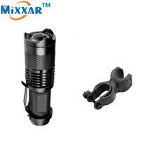 Buy LED Flashlight Bicycle Light 2000 Lumens 3 Mode Q5 LED cycling Front Light Bike lights Lamp Torch Waterproof Zoomable for $2.60 in AliExpress store