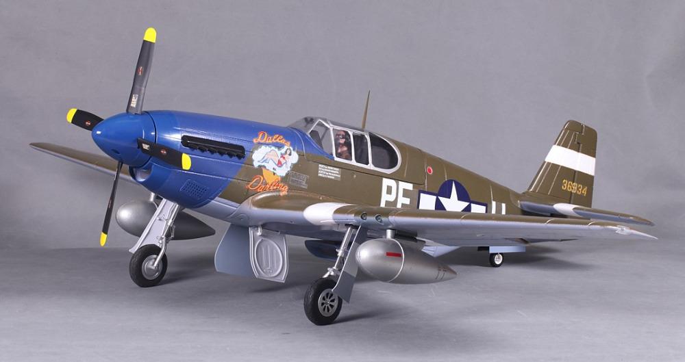 FMS 1400MM / 1.4M Gaint Warbird P51 / P-51 B Mustang Dallas Darling Newest version PNP Big Scale RC MODEL PLANE