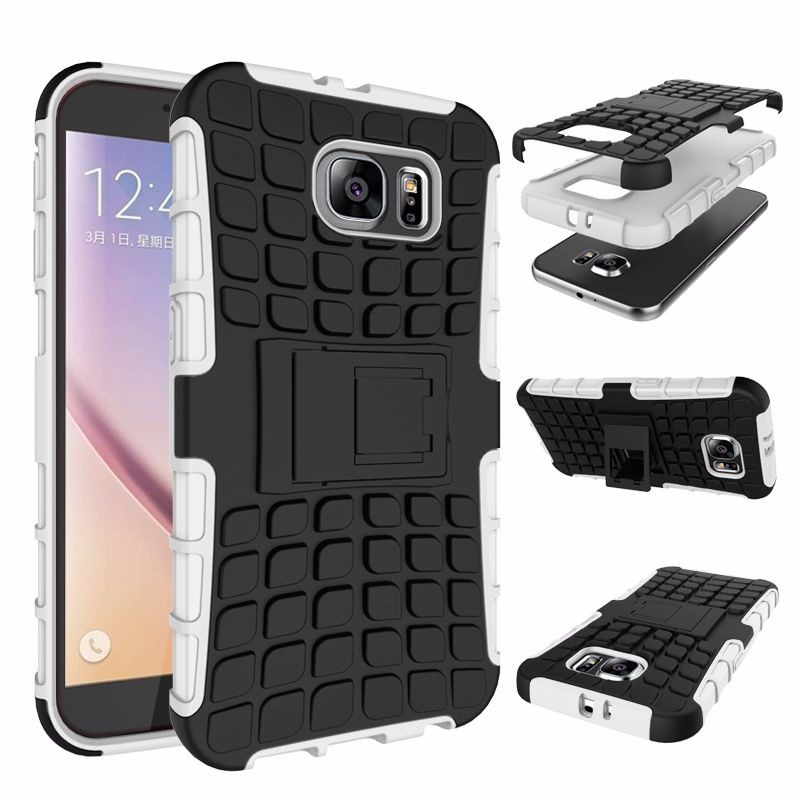 For Samsung S3 S4 S5 Mini S7 S6 Edge Plus Case Armor Hybrid Defender Tyre Case for Samsung S3 S4 S5 Mini S7 S6 Edge Plus Cover