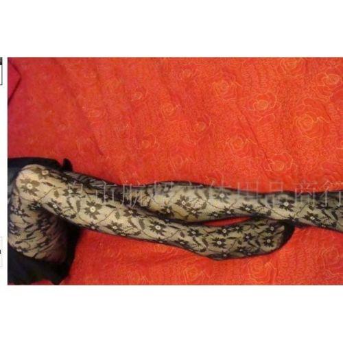 Sexy Black Women Fishnet Net Pattern Jacquard Pantyhose Tight Lot Style wa603 sx()