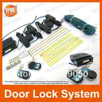 Universal Car Central Locking System Remote Control 4 Door With Adjustable Hardware,Free Shipping