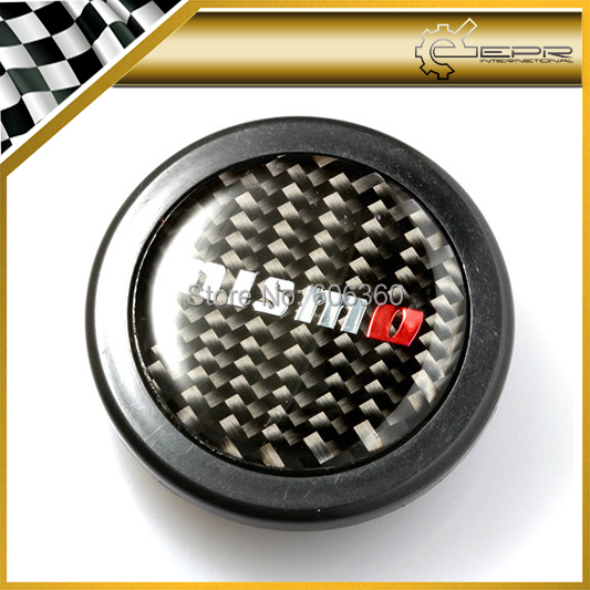 For Nissan Nismo Real Carbon Fiber Steering Wheel Push Horn Button SKYLINE R33 R34 GTR R35 350Z(China (Mainland))