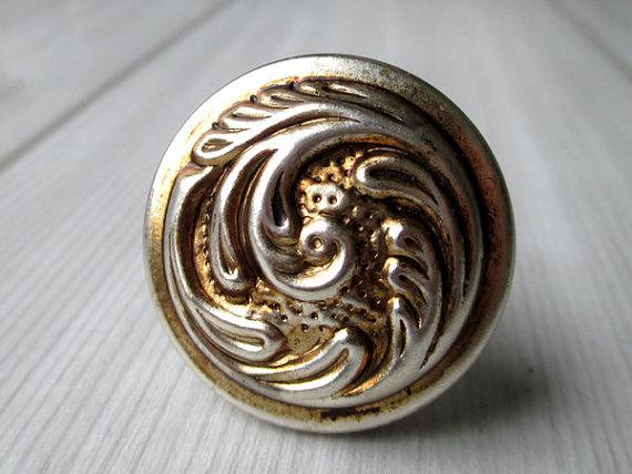 Rustic Dresser Knob Drawer Knobs Pulls Handles / Cabinet Knobs Pull / Vintage Style Furniture Knob Brass Hardware Antique Silver<br><br>Aliexpress