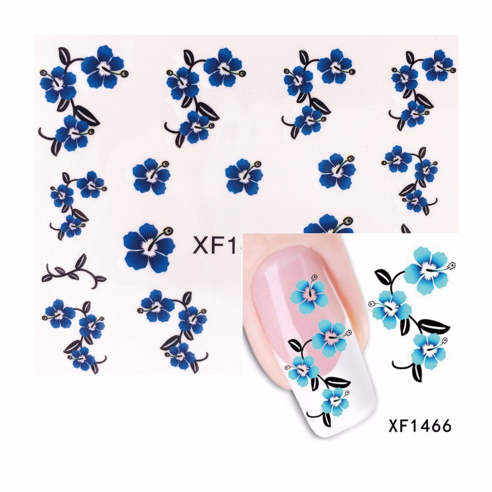 LCJ 1 Sheet Nail Water Transfer Decals Animals Dog/Owl/Cat Nail Stickers UV Gel Decoration Makeup Tools 1466(China (Mainland))