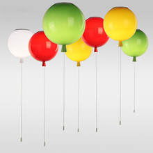 Kids' Gifts Colorful Balloons Pendant Lighting Children Room Interesting Lighting Wall / Ceiling Install(China (Mainland))
