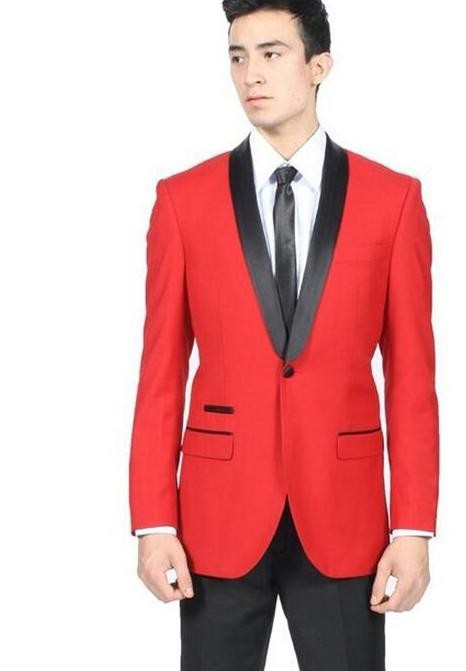 Compare Prices on Red and Black Suits for Men- Online Shopping/Buy