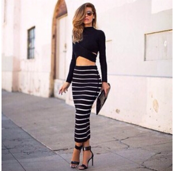 Long Pencil Skirt | Gommap Blog