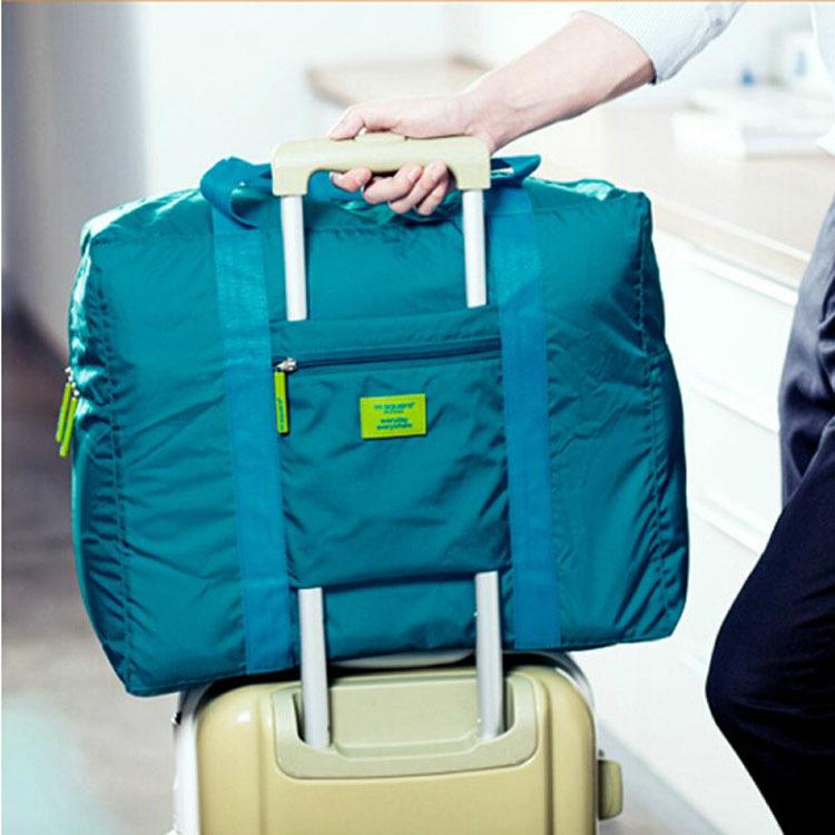 Korean waterproof foldable travel bag Travel Storage bags men and ladies clothing finishing bags(China (Mainland))