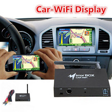 Universal WIFI Car Mirror Box for Android iOS Phone Navigation Car Audio Miracast DLNA Airplay Wi-Fi Smart Screen Mirroring(China (Mainland))