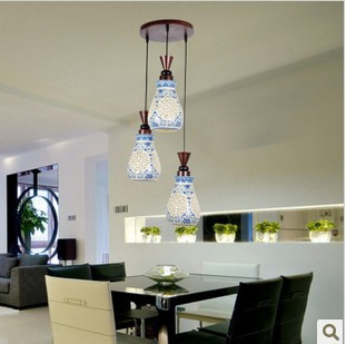 modern brief pendant light restaurant lamp dining table