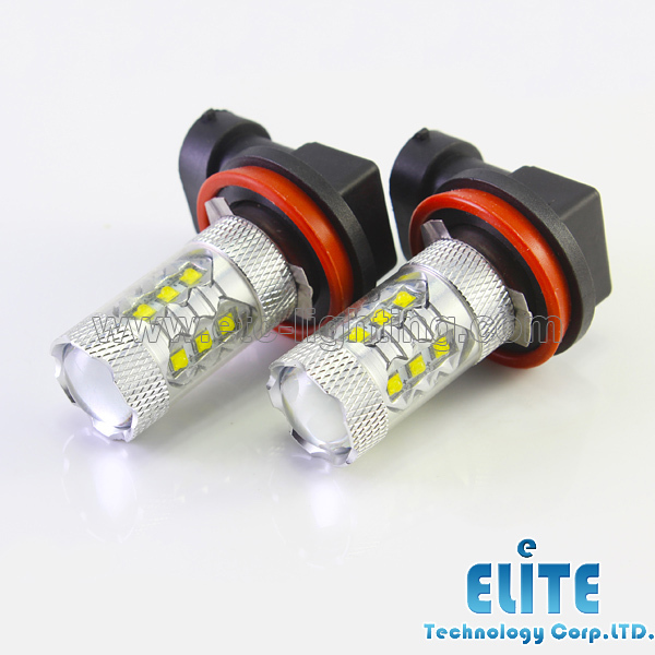 Super Bright Xenon White H11 LED Fog Light CREE XBD 80W Daytime Running High Power 12V H8 H9 9005 9006 - ETC Retrofit Store store