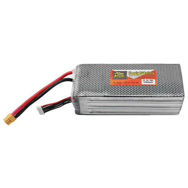Lipo Battery 22.2V 10000mAh 6S 30C XT60 For Dji Phantom S800 EVO S900 Rc FPV Helicopter Airplance Quadcopter Drone Bateria Lipo(China (Mainland))