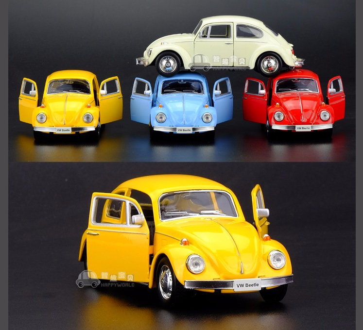 High Simulation Exquisite Model Toys Volkswagen Beetle 1967 Retro Classic Car Models 1:36 Alloy Cars Model Excellent Gifts(China (Mainland))