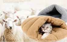 Luxury Cat Bed – Sleeping Bag/Swag Style