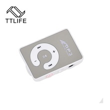 TTLIFE Big Promotion Mirror Portable MP3 Player Mini Clip MP3 Player Waterproof Sport mp3 Music Player Walkman Lettore mp3(China (Mainland))