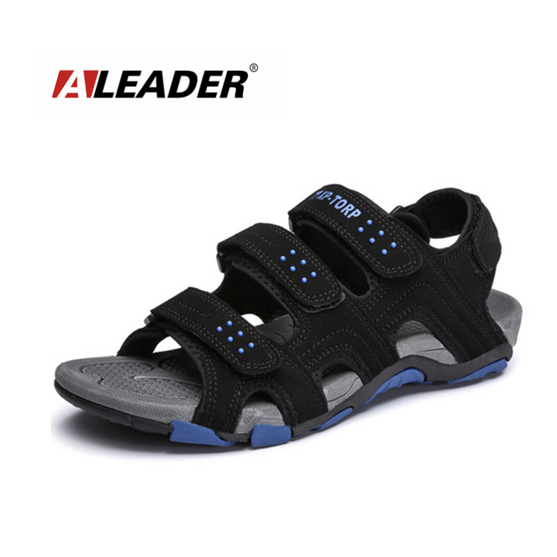 Mens Casual Sandals 2015 Summer Beach Shoes Fashion Sport Sandals for Man Slippers Breathable Shoes Sneakers Walking Sandals