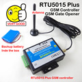 Free shipping RTU5015 Automatic GSM Gate Opener Switch Remote Access Control Roller Gate Opener 1Output,2 Inputs App support