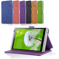 Flip Smart Tablet Cases Printing Pattern Folio Cover With Stand PU Flower Leather Case Cover For